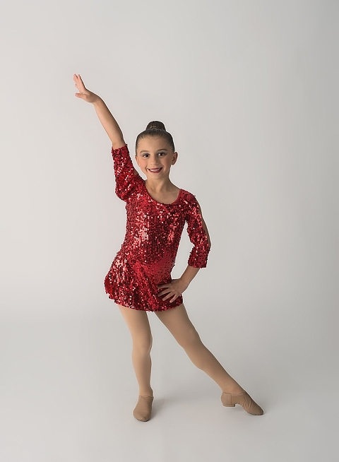jazz dancer pictures red costume