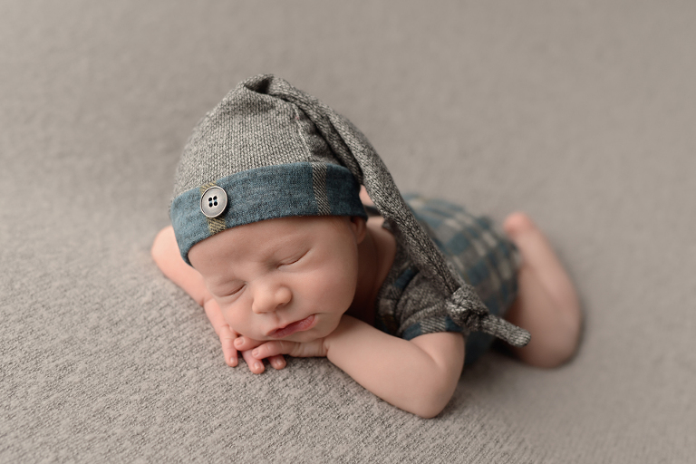 boy sleeping baby newborn photos CT Farmington Lisa Millerick