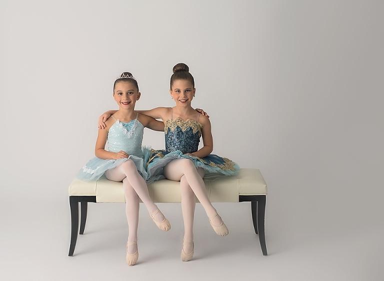 evjen sister ballet bench