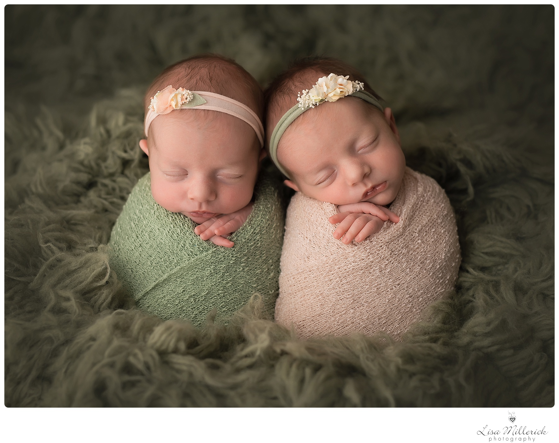 Newborn Identical Twins Newborn Baby Girl Twin...