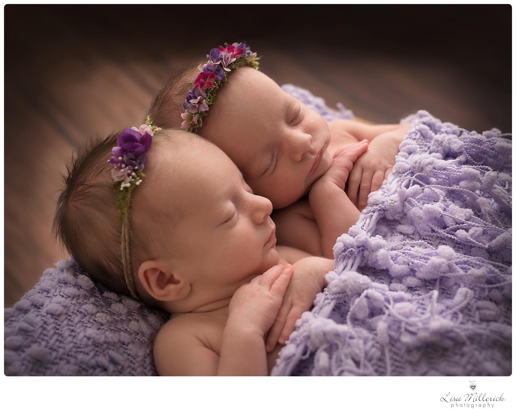 Newborn Baby Girl Twins | Newborn and Family Photographer ...