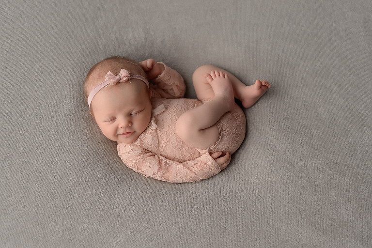about newborn sessions CT baby girl photo lisa millerick